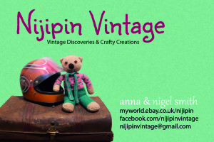 Nijipin Vintage business card